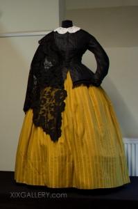 Miederoberteil um 1845-1855
