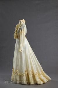 Kleid - Jahrhundertwende vom 19. zum 20. Jh.