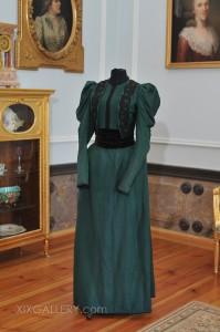 Kleid um 1893-1897