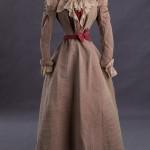 Abendkleid um 1888 - Vorderseite