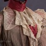 Abendkleid um 1888 - Details